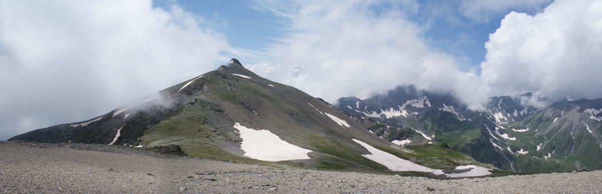 Вид с перевала Архыз